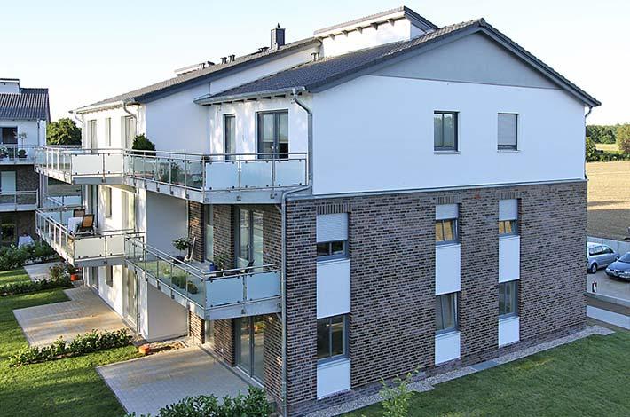 Schwellenlose Wohnungen: 2x9 Einheiten